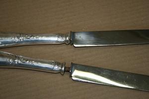 remontage Couteaux et Pièces de Service, prestations de restauration et réparation , à L'Atelier des Orfèvres à Saint Fort